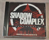 Shadow Complex Remastered Original Soundtrack Cd Limited Run Games Sealed