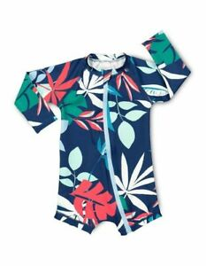 NEW-Bonds-Baby-Swim-Long-Sleeve-Zip-Suit-Midnight