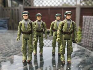 Rebel Commando Esercito BUILDER x4 Vintage Star Wars. Bundle JOB LOT