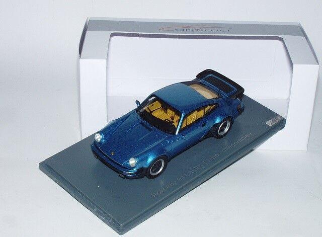 Neo skala Porsche 911 (930) Turbo minervablå -metall1 43, särskild Edition, Neu