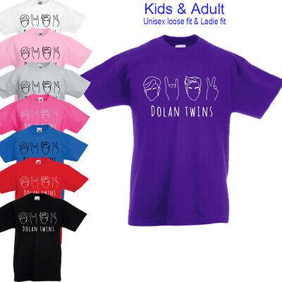 Affidabile Dolan Gemelli Fratello Stile Ethan Grayson 99 Bambini Ragazzi Ragazze Donna T-shirt Top-