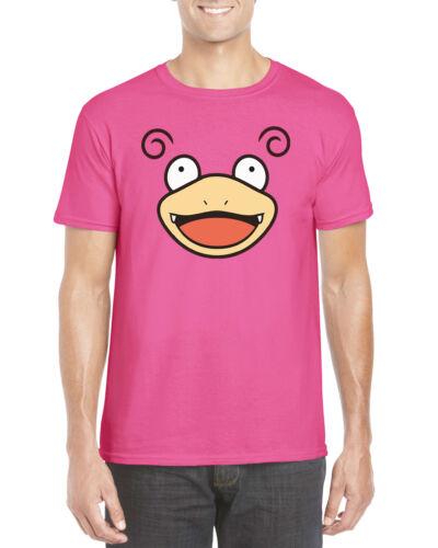 2XL Kids and Adults Slowpoke Face Pokemon Inspired T Shirt S