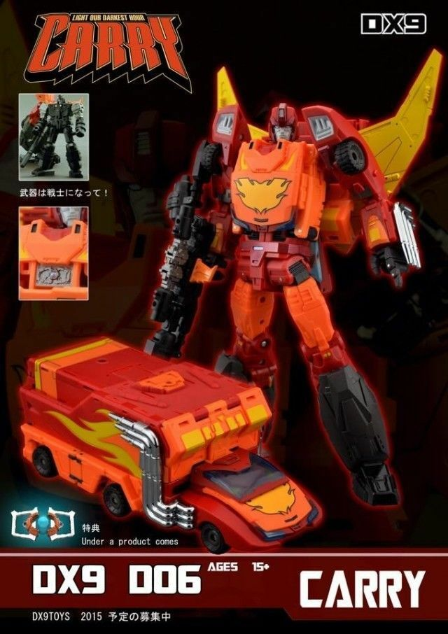 DX9 Carry Masterpiece Style Action Figure NEW