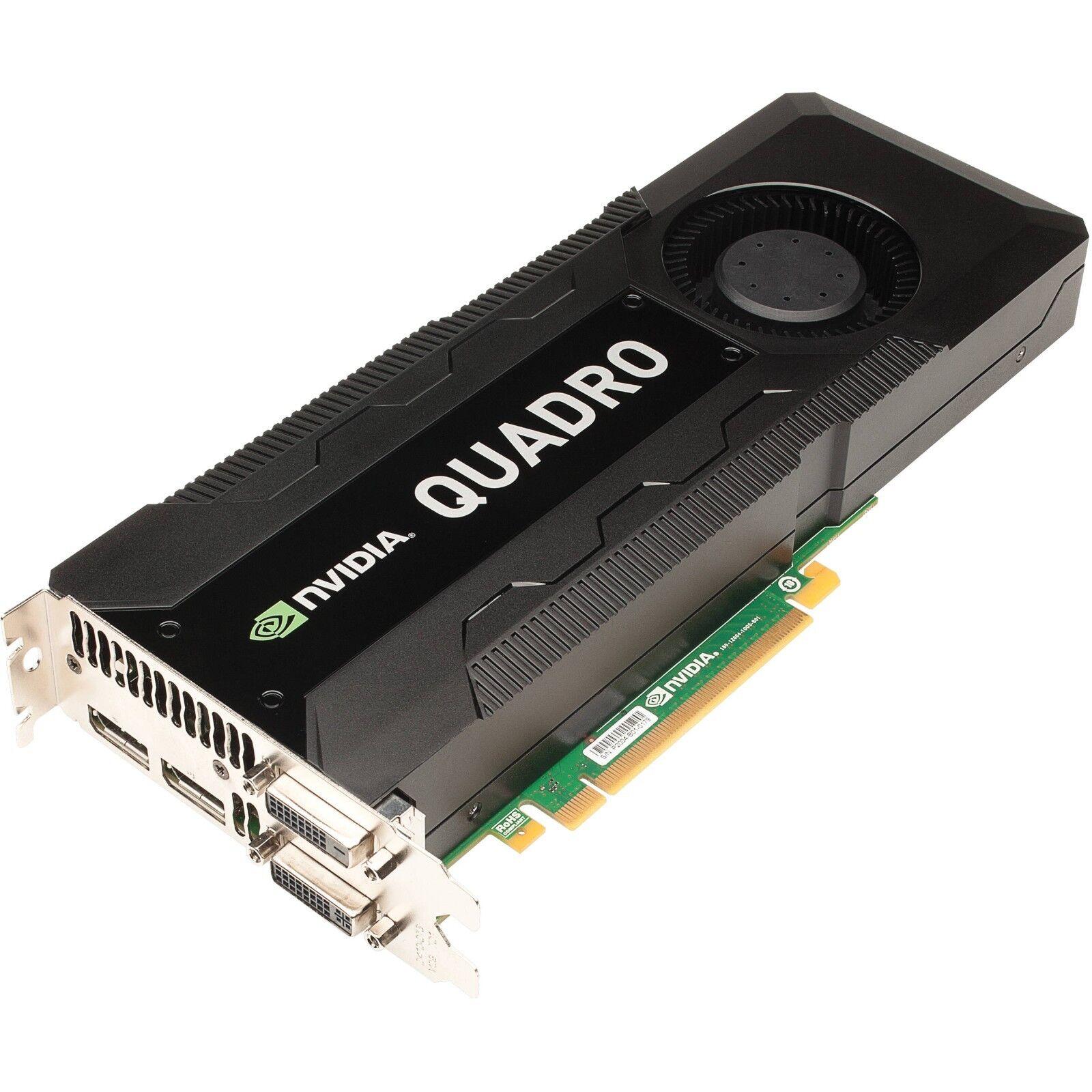 PNY NVIDIA Quadro K5000 Mac 4GB GDDR 5 PCIe 2.0 x16 Kepler GPU VCQK 5000MAC