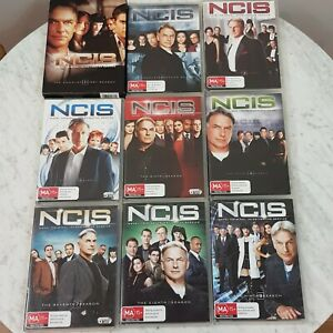 NCIS-The-Complete-Seasons-1-2-3-4-5-6-7-8-9-DVD-Bundle-Aus-Seller