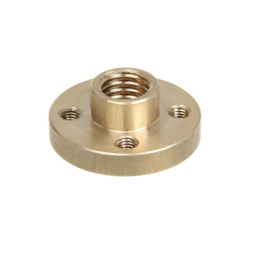axis M8 threaded rods Prusa I3 3D printer 2x 8mm Tin-bronze M8 nut for Z