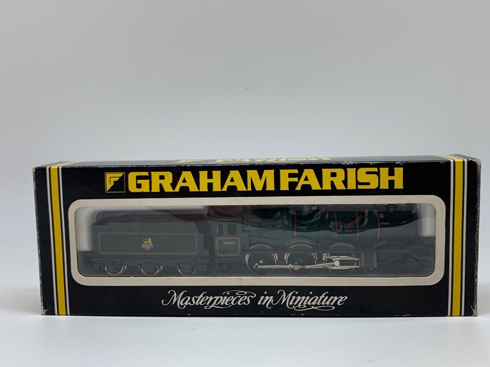 Graham Farish - N Gauge - No. 1415 - King Class - King John - BR(verde)