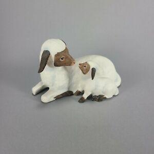 Vintage Homco Ceramic Sheep Ewe Lamb Easter Spring
