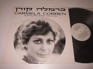 LP-CARMELA-CORREN-THE-SUN-WILL-SHINE-TOMORROW-mit-Autogramm-Signed