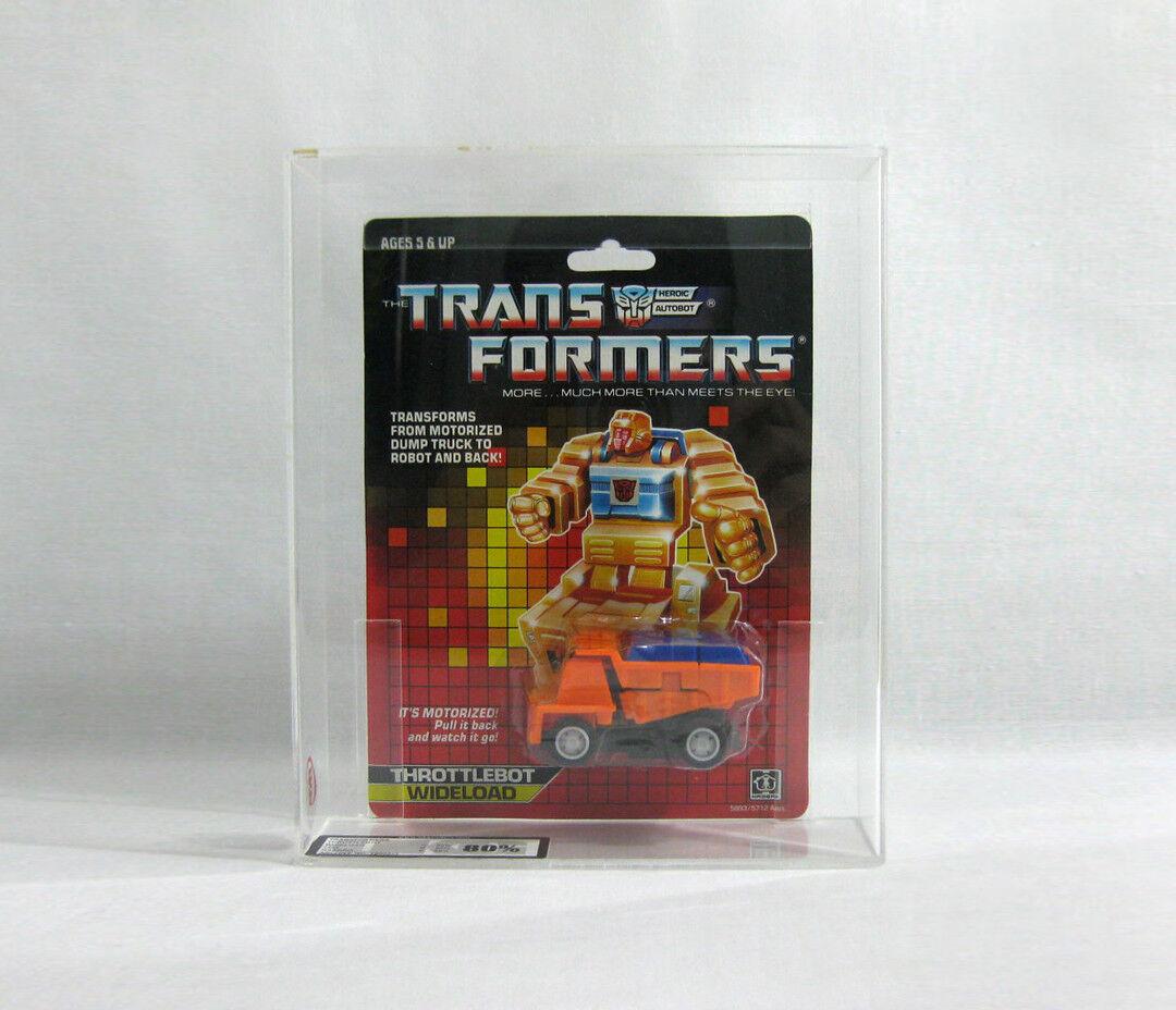 NEW 1986 Transformers ✧ WIDELOAD ✧ Vintage G1 Throttlebot UKG 80/85/90 AFA