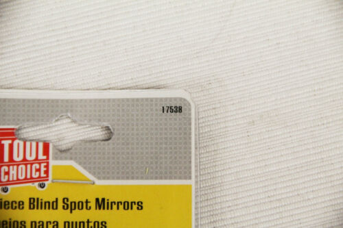 """Box of 12 Tool Choice 2 Piece 2/"""" Blind Spot Mirrors Weather Resistant 17538 NEW"""