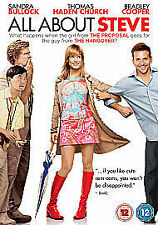 All About Steve (DVD, 2010) Comedy Chick Flick Romantic Region 2 U.K.