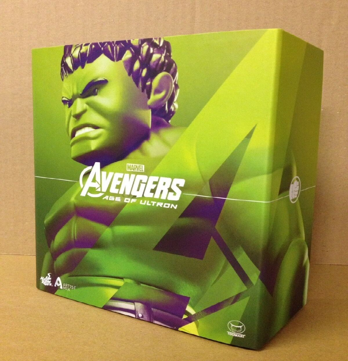 Hot Toys Touma Artist Mix Avengers Age Of Ultron 6  HULK (AMC 013) Figure NEW