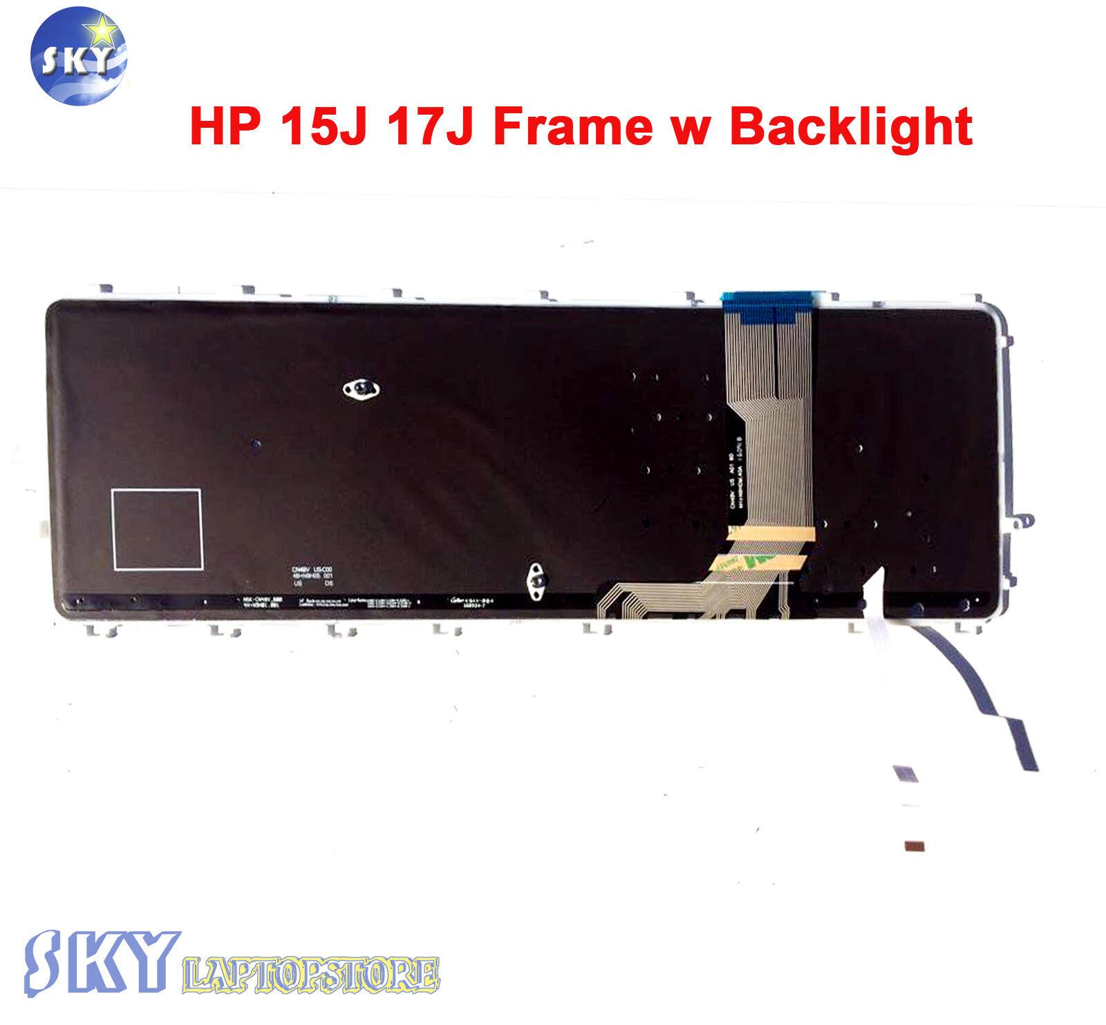 New HP Envy 15-J 15Z-J 17-J 17T-J Keyboard USA Backlit  736685-001