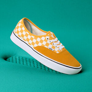 d9ff3a3be4 Image is loading New-Womens-VANS-COMFY-CUSH-Checkerboard-Authentic-YELLOW-