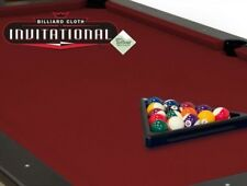Championship Invitational 8-Feet Wine Pool Table Felt
