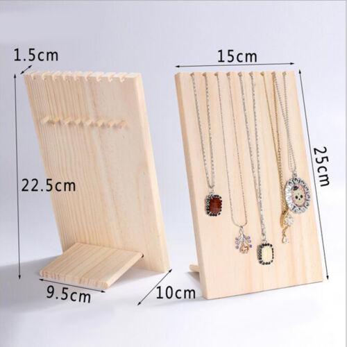 Holz Schmuckständer Schmuckhalter Ohrringhalter Kettenständer