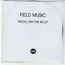 (EQ233) Field Music, Who'll Pay The Bills? - 2012 DJ CD