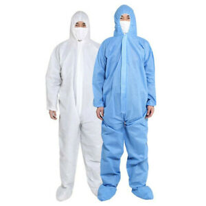 Protective Suits Protection Clothing Safety Coveralls For Women Mens Full Body