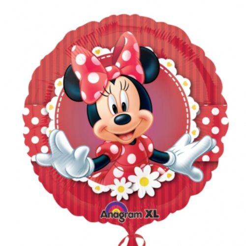 """18/"""" Disney Minnie Mouse Polka Dot Fête D/'Anniversaire Décoration Ballons"""