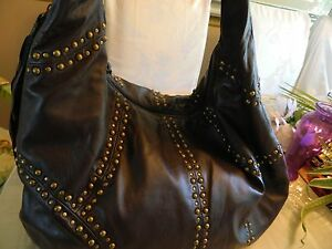 NWOT-Rafe-New-York-Leather-Studded-Hobo-Below-Retail