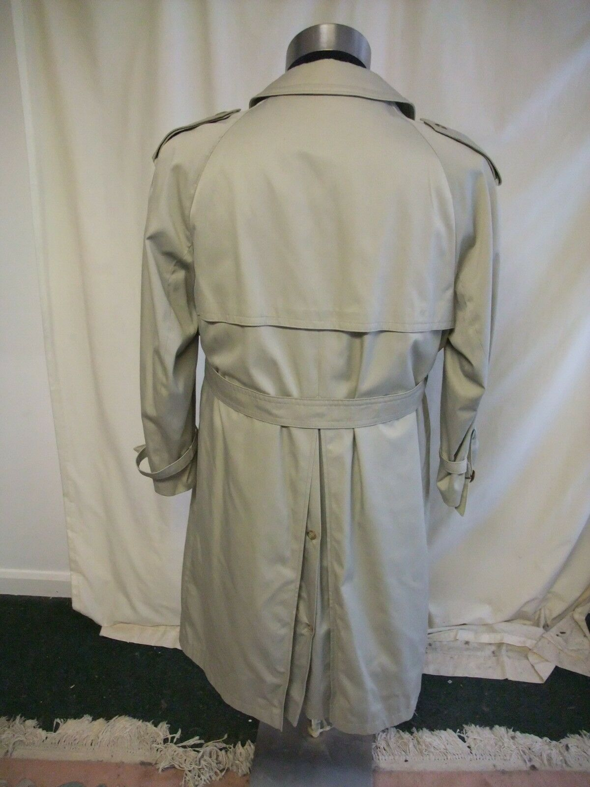 Mens Coat House of of of Fraser chest 38  light khaki mac, detachable warm lining 2356 | Verpackungsvielfalt  2db177