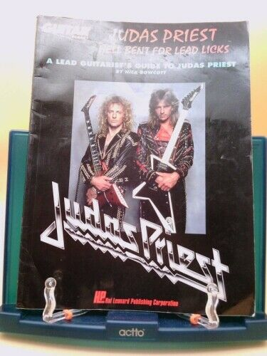 Judas Priest Transcribed Solos : Hell Bent for Lead Licks by Nick Bowcott
