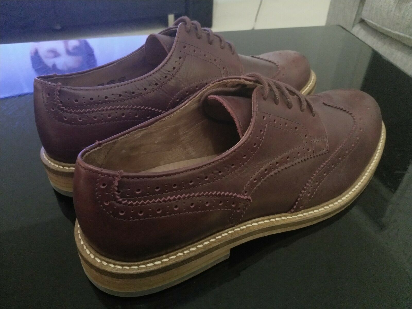 Jack Wills Harraton Brogue shoes   New SIze 9