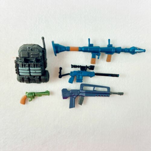 "5pcs Fortnite Weapon Snife Pistol Guns Backpack Accessories for 4/"" Action Figure"