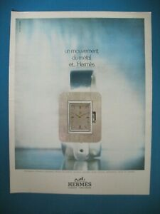 Advertising-Press-Hermes-Watch-Movement-of-the-Metal-Watchmaking-Luxe-ad-1971