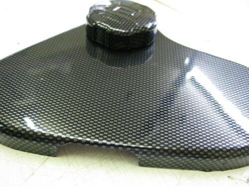 Vauxhall Corsa D VXR headertank cubierta y tapa de plástico ABS de fibra de carbono