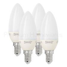 4 X Ikea ryet E14 Tornillo LED VELA Bombillas de luz cálida (3W/200lm/A+/2700K)
