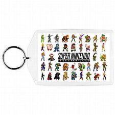 Nintendo Nes Snes N64 Ninja Zelda Turtles Batman Characters  Keychain New #8