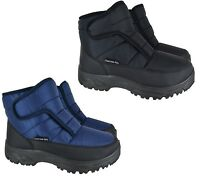 MENS NEW WARM WINTER SNOW SKI BOOTS THERMAL MUCKER COMFORT BOOTS SIZE 7-11