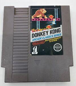 Nintendo NES 1988 Donkey Kong Arcade Classics Series Cartridge Video Game