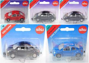 Spielzeugautos Siku 1097 VW New Beetle blau