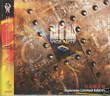VIGILANTE War Of Ideas LIMITED 2CD Digipack JAPAN IMPORT 2009