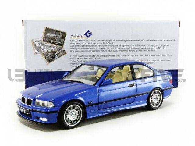 BMW E36 M3 1990 Coupe Blue Solido 1-18 scale Diecast model new in box