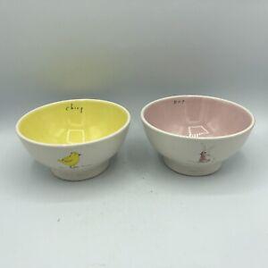 Rae Dunn Chirp and Hop Bowls.  Nice