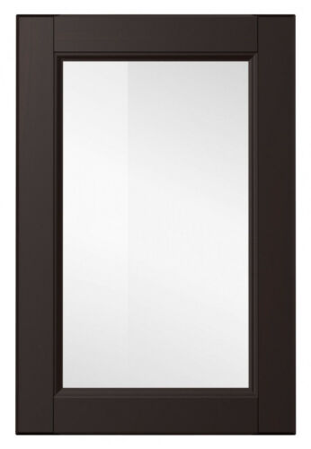 IKEA Metod Laxarby Schwarzbraun Vitrinentür 40x80 cm NEU OVP 402.057.78