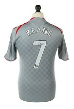 Robbie Keane Signed Shirt Autograph Liverpool 08/09 Grey Jersey Memorabilia COA