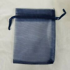 Jewelry Bags Pouches Navy Blue 35 X 475 Inches 50 Pack