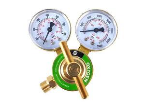 SÜA - Oxygen Regulator Welding Gas Gauges - CGA-540 - Rear Connector - LDB
