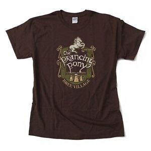 Lord-of-the-Rings-034-Prancing-Pony-034-high-quality-screen-printed-T-Shirt-S-3XL