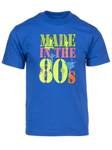 Men/'s Generation X Made in the 80/'s Neon T-Shirt