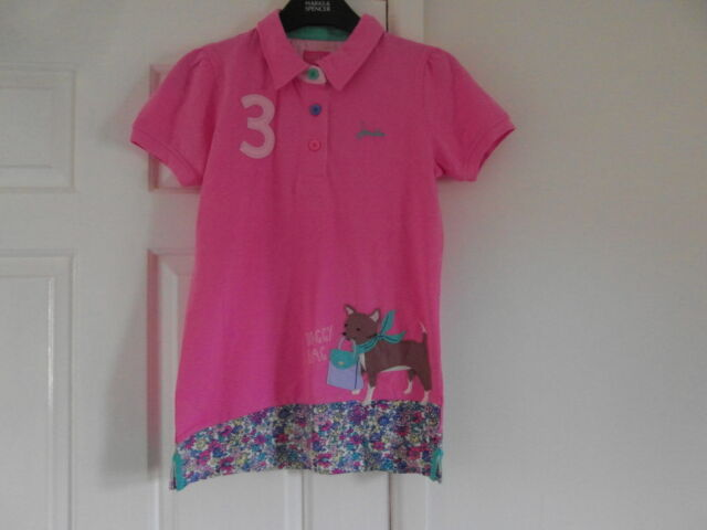 Joules new without tags a size 11-12 yrs and Pink in colour long top