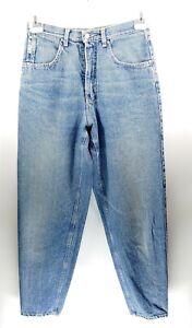 Mustang W27 L31 blau Damen Jeans Hose Denim Designer Mode Vintage Retro Mode VTG