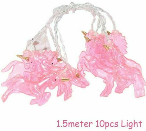 Unicorn Night String Lights Lamp Party Decoration Top Quality Home Wall Ornament
