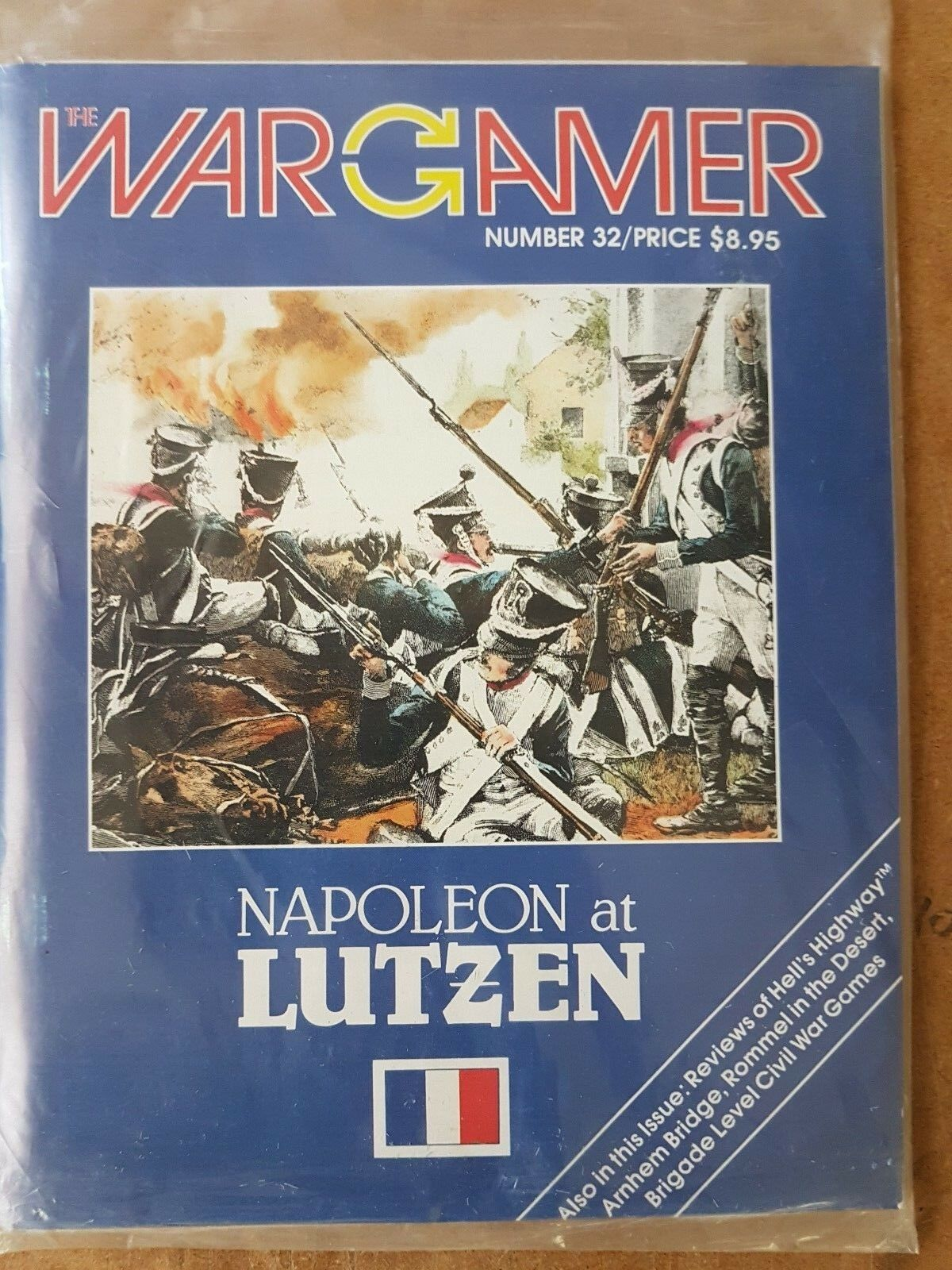 THE WARGAMER NUMBER 32 - NAPOLEON AT LUTZEN  - GAME UNPUNCHED