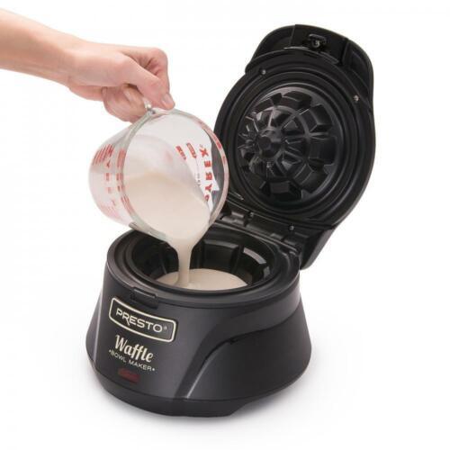 Presto 03500 Gaufre Belge Bowl Maker taille unique Noir